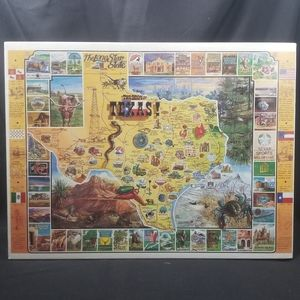 """NEW - THE BEST IN TEXAS! 1000 PC PUZZLE - 24""""X30"""""""